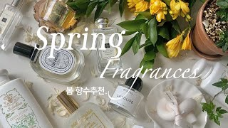 Spring favorite fragrances ➰ 봄…