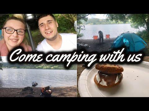 SUMMER CAMPING TRIP   LOCH TUMMEL, SCOTLAND