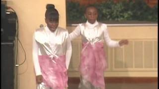 "Vickie Winans, ""I Hear the Music In The Air""-Kingdom Children Dancers"