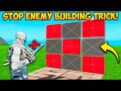 *NEW* EDIT STOPS ENEMY BUILDING!!  - Fortnite Funny Fails and WTF Moments! #724