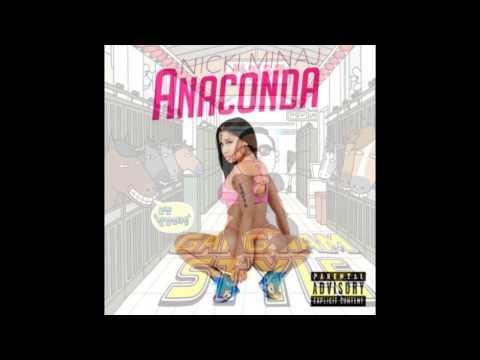 Anaconda Style (Gangnam style and Anaconda mix/remix)