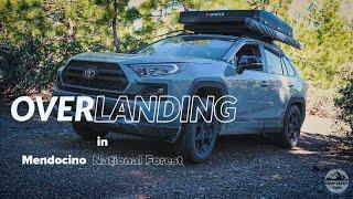 RAV4 TRD Overlanding & Cąmp Cooking in Mendocino National Forest
