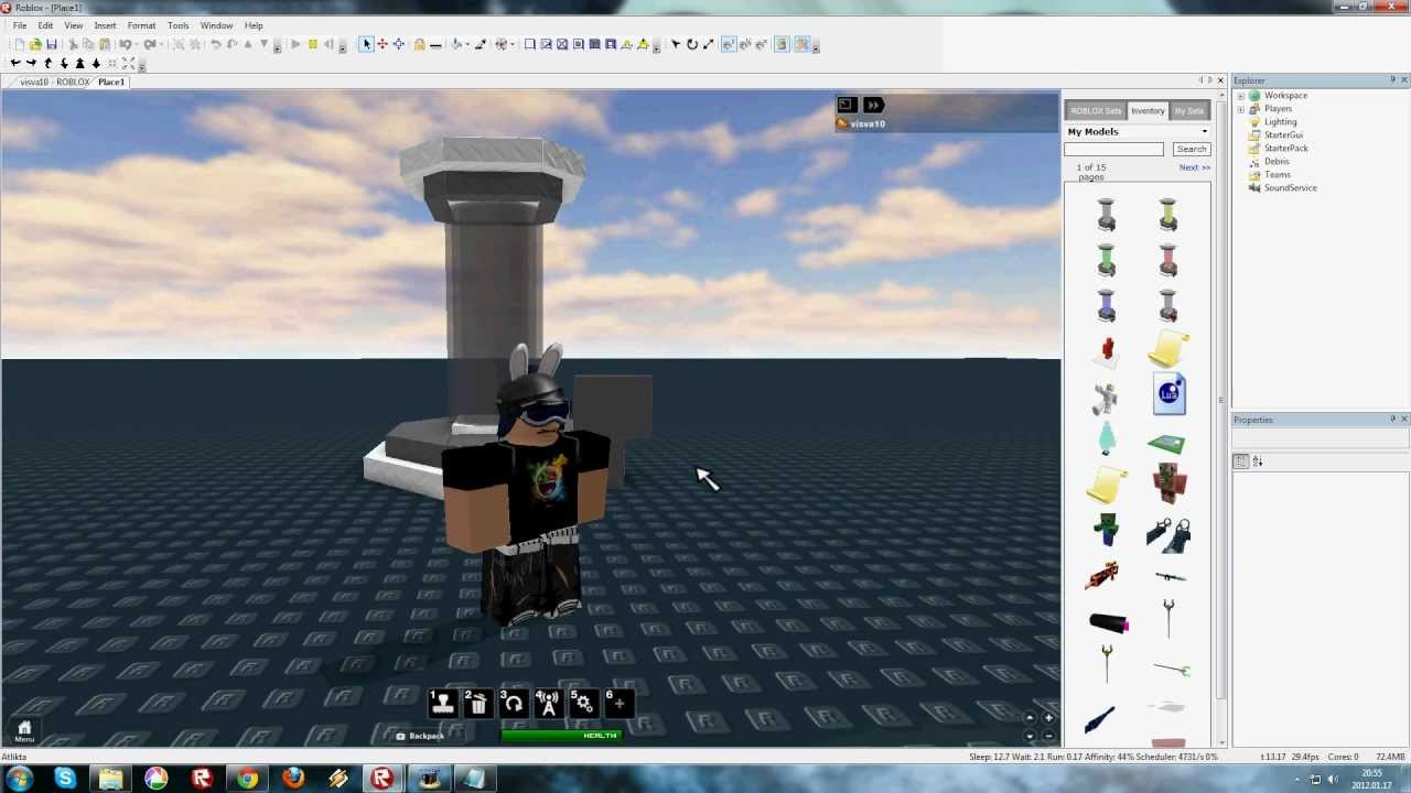 how to make places on roblox