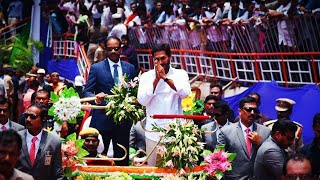 Jeevithamante poratam ft. CM Jagan version   Narasimha movie song   ys jagan   YSRCP party   rajni