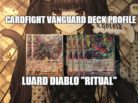 "Cardfight Vanguard: Shadow Paladin Luard Diablo ""Ritual"" Deck (GBT-09)"
