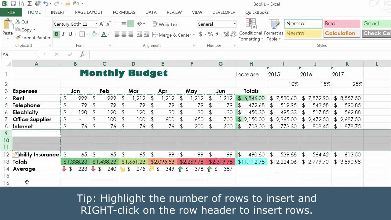 learning excel dataanalysis 2015 linkedin - 1280×720