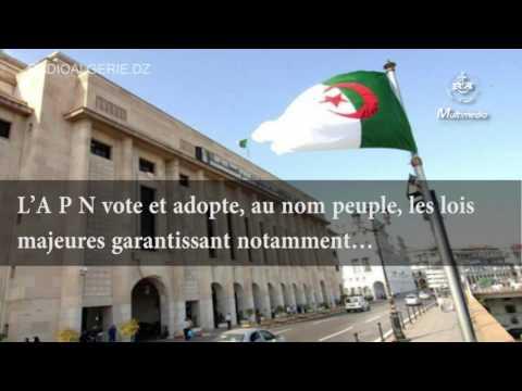 A propos  de l'assemblée populaire nationale