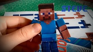Бумажный Minecraft: Движущийся Стив