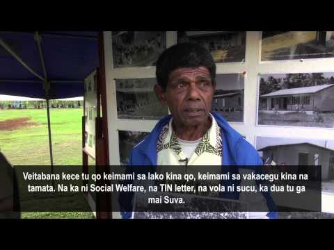 Eparama finds priceless photograph of his father at Archives outreach in Namosi. (iTaukei Subtitles)