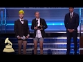 Twenty One Pilots Wins Best Pop Duo Group Performance Acceptance Speech 59th GRAMMYs mp3