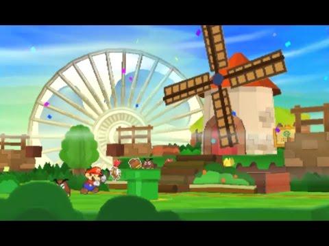 Paper Mario: Sticker Star Walkthrough - W1-4 Hither Thither Hill & W1-5 Whammino Mountain