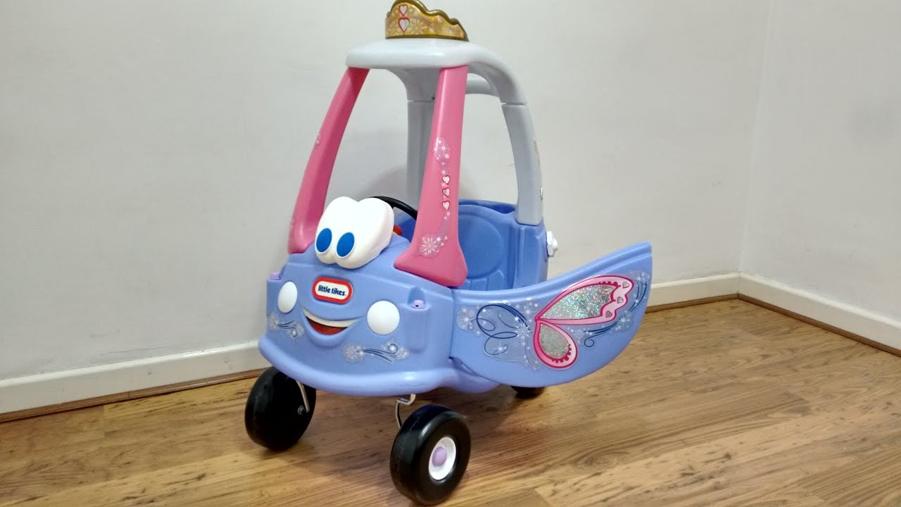 Pink Cozy Coupe Fairy Ride On Walkaround Kids Fun Little