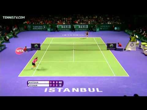 2011 WTA Istanbul Highlights - Semi-Finals