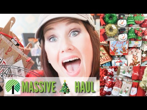 NEW DOLLAR TREE CHRISTMAS FINDS 2018 | 🎄DOLLAR TREE HAUL AND SHOP WITH ME