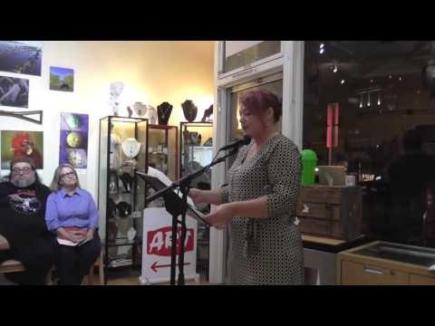 Ghost Town Poetry Open Mic 10-13-16 Featuring Naomi Fast Video 1