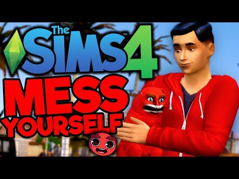 MESSYOURSELF IS NOW IN THE SIMS !!! (The Sims 4) thumbnail