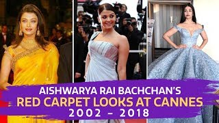 Baixar Aishwarya Rai's Red Carpet Looks at Cannes from 2002 -2018 | Fashion | Cannes 2018 | Bollywood