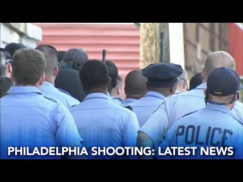 Philadelphia shooting: Suspect in custody, police officers released from hospital