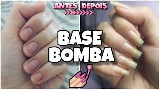 BASE BOMBA PARA CRESCIMENTO E FORTALECIMENTO DAS UNHAS!