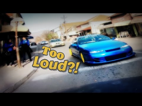 Ours Opel Calibra - Exhaust Sound /// City Drive ///