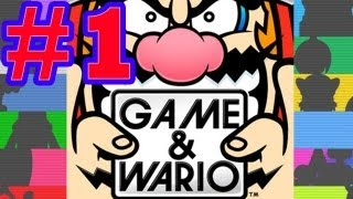 Game | Game Wario Part 1 The best game ever! Wii U Walkthrough HD | Game Wario Part 1 The best game ever! Wii U Walkthrough HD