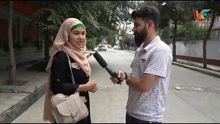 گزارش ایمان هاشمی از برگزاری لویه جرگه مشورتی و نظریات مردم