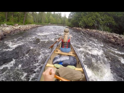 Cabin Falls: Paddle into Paradise - Canoe Trip to a Backcountry Ecolodge Retreat - Temagami Ontario
