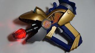 手裏剣戦隊ニンニンジャーより、LED発光改造したガマガマ銃です。 □プレ...