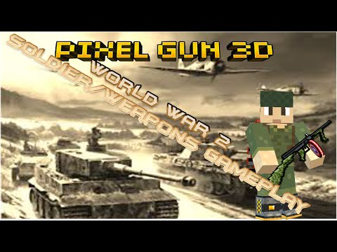 Pixel Gun 3D: World War 2 Soldier Gameplay