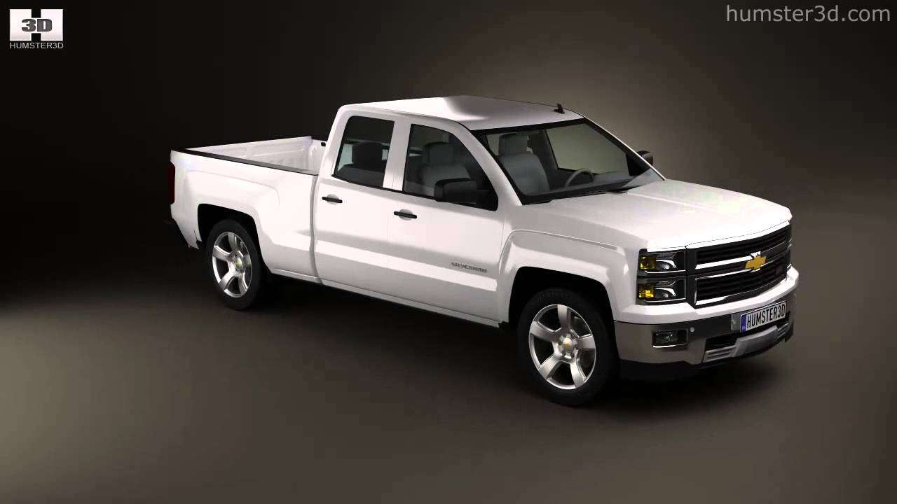 chevrolet silverado extended cab z71 2014 by 3d model store youtube. Black Bedroom Furniture Sets. Home Design Ideas