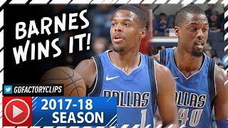 Harrison Barnes 22 Pts & Dennis Smith Jr. 17 Pts Full Highlights vs Grizzlies (2017.11.22) - SICK! thumbnail