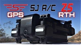SJRC Z5 GPS 2.4G WiFi FPV Foldable 1080P HD Camera RC Drone