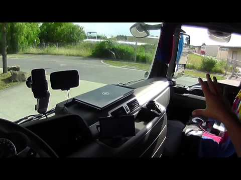 1.A kamionos.Tolatás kezdőknek. 1.rész
