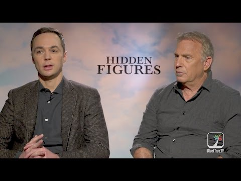 HIDDEN FIGURES interview with Kevin Costner and Jim Parsons