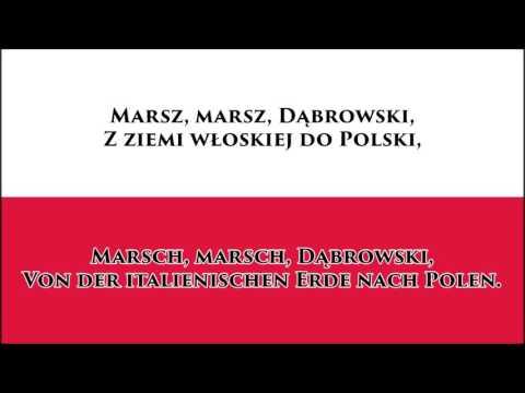 Polnische Hymne - Anthem Of Poland (PL/DE Text)