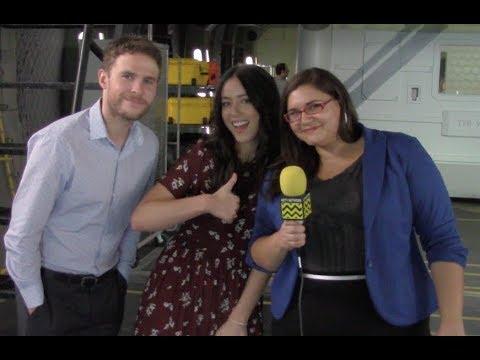 Chloe Bennet DaisyQuake & Iain De Caestecker Fitz talk Agents of SHIELD Season 5