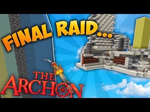 My Last Archon Raid... | Minecraft Factions