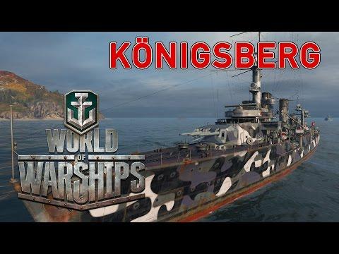 World of Warships - Königsberg Introduction