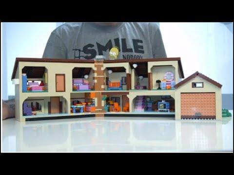 The Simpsons House - 71006 - Designer Video