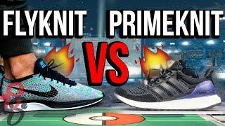 Primeknit VS Flyknit - YouTube