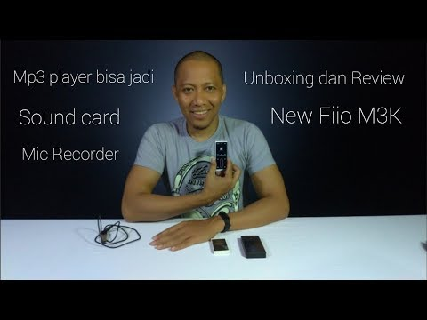 Unboxing Dan Review New Fiio M3K (Digital Audio Player)