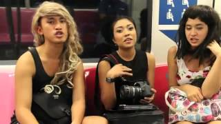 Epic Minahs Befriends Youths In MRT