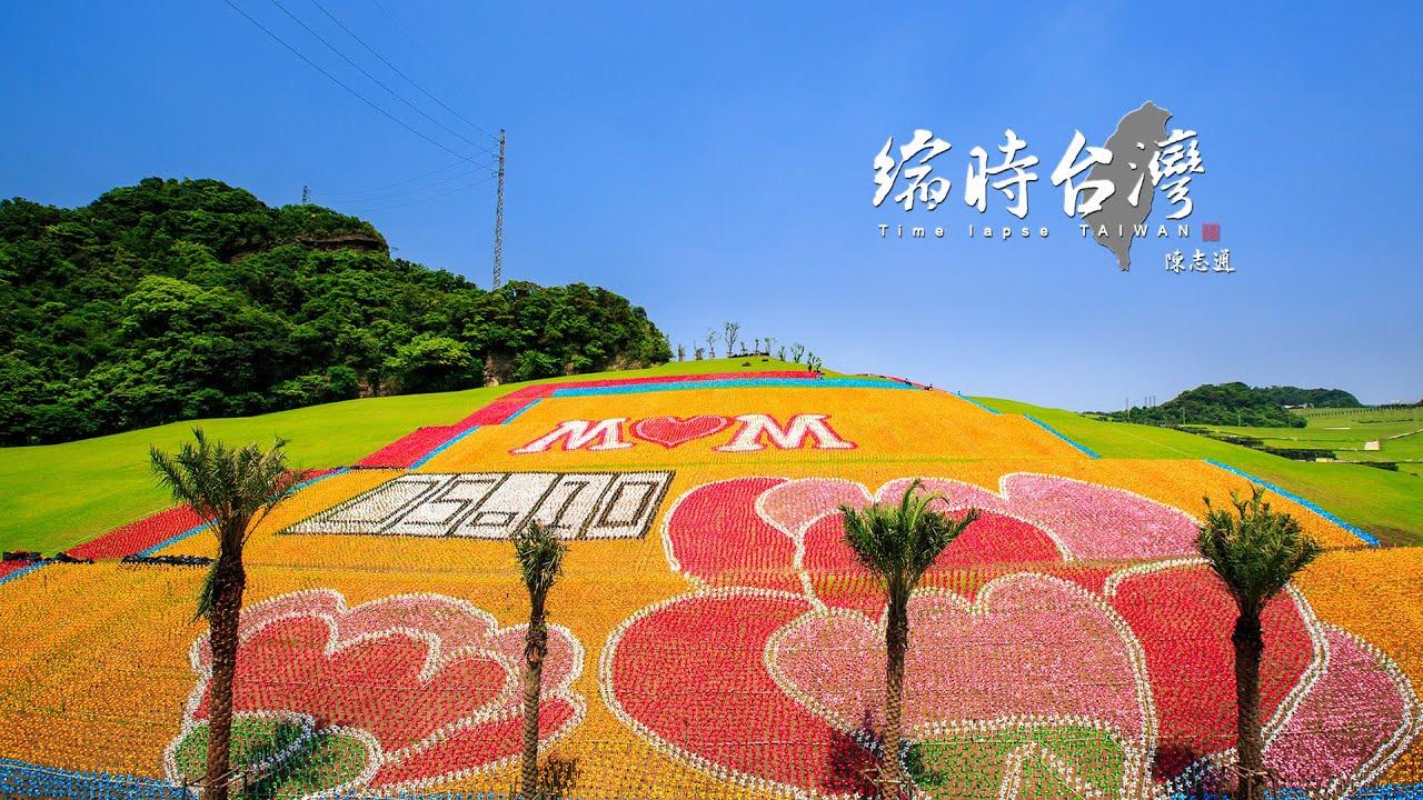 擁恆再度打破紀錄!!!打造十二萬隻壯觀康乃馨地景藝術 - YouTube