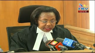 LIVE: Court of Appeal rules on the case on announcement of presidential results