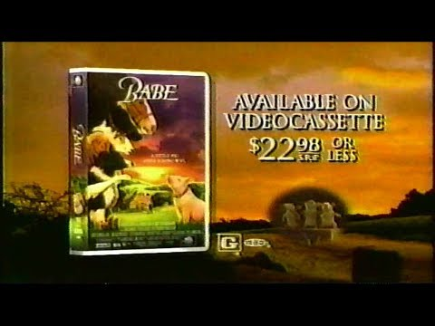Babe On VHS Commercial (1996)