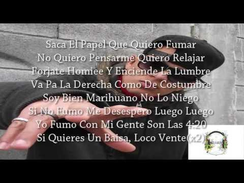 Soy Bien Marihuano - Thug Pol Ft Reck One (Letra)