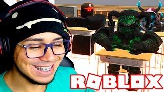 ESCUELA DE MONSTERS (animación) de ROBLOX 😂👀