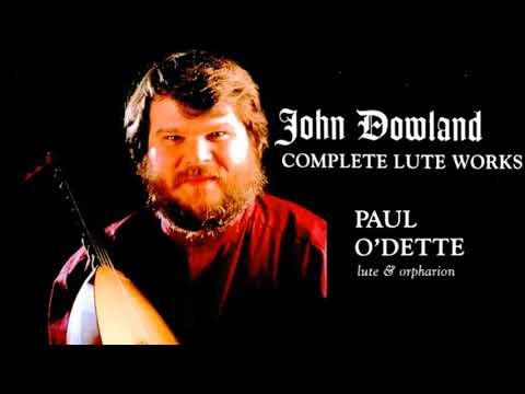 Dowland - Complete Lute Galliards Works/Renaissance/Lachrimae (Century's recording : Paul O'Dette)