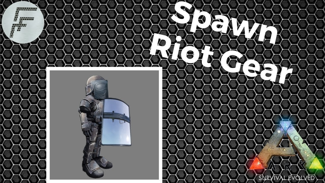 How to spawn riot gear ark survival evolved youtube how to spawn riot gear ark survival evolved malvernweather Gallery
