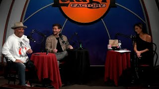 SEXY FUNNY RAW WITH RUSSELL PETERS DREW LYNCH AT THE LAUGH FACTORY HOST SILVIA SAIGE